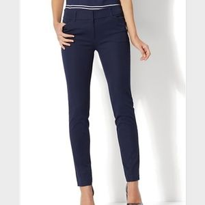NWT NY&CO Grand Sapphire Blue Audrey ankle pants